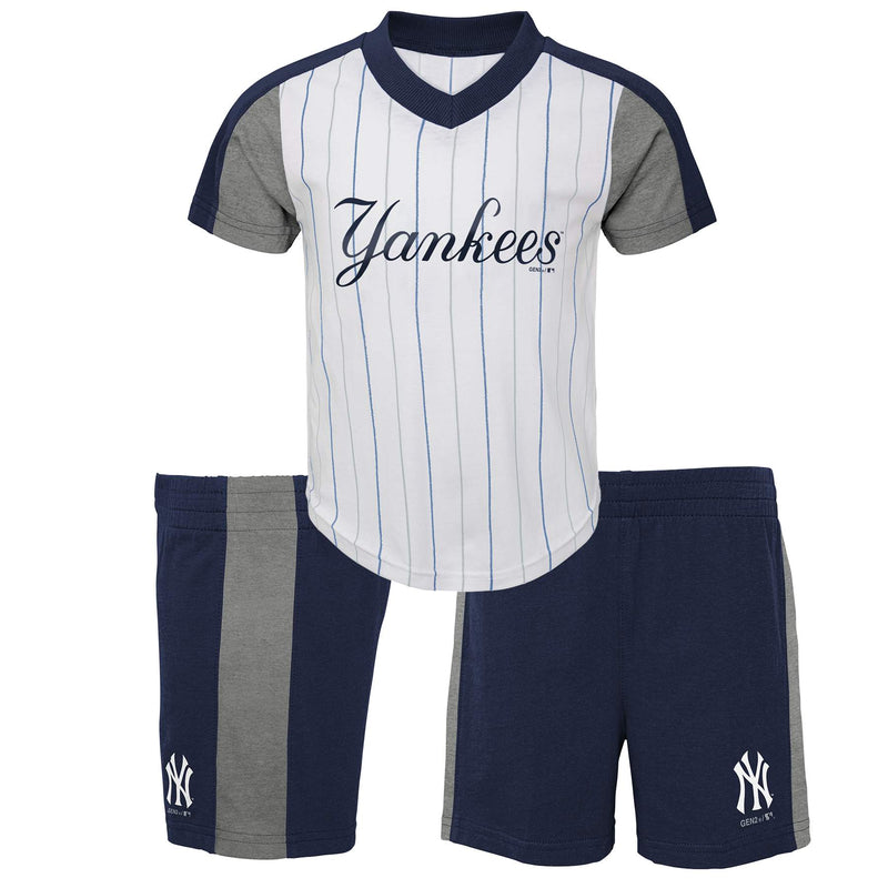 Yankees Shirt and Shorts Set