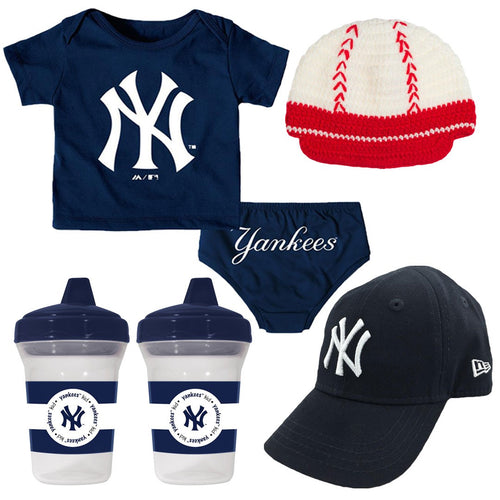 Yankees Infant Boy Gift Set