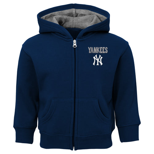 Yankees Zip Up Hooded Sweatshirt