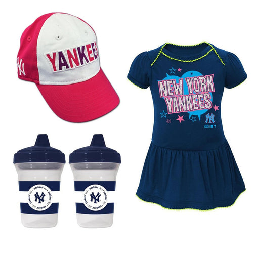 Yankees Infant Girl Gift Set