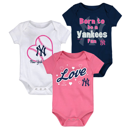NY Yankees Baby Girl Outfits