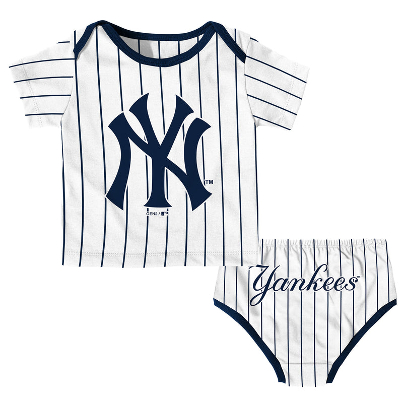 New York Yankees Baby Boy Uniform Set