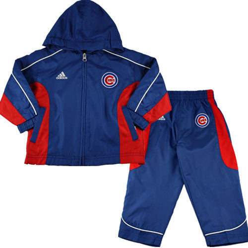 Chicago Cubs Toddler Wind Suit