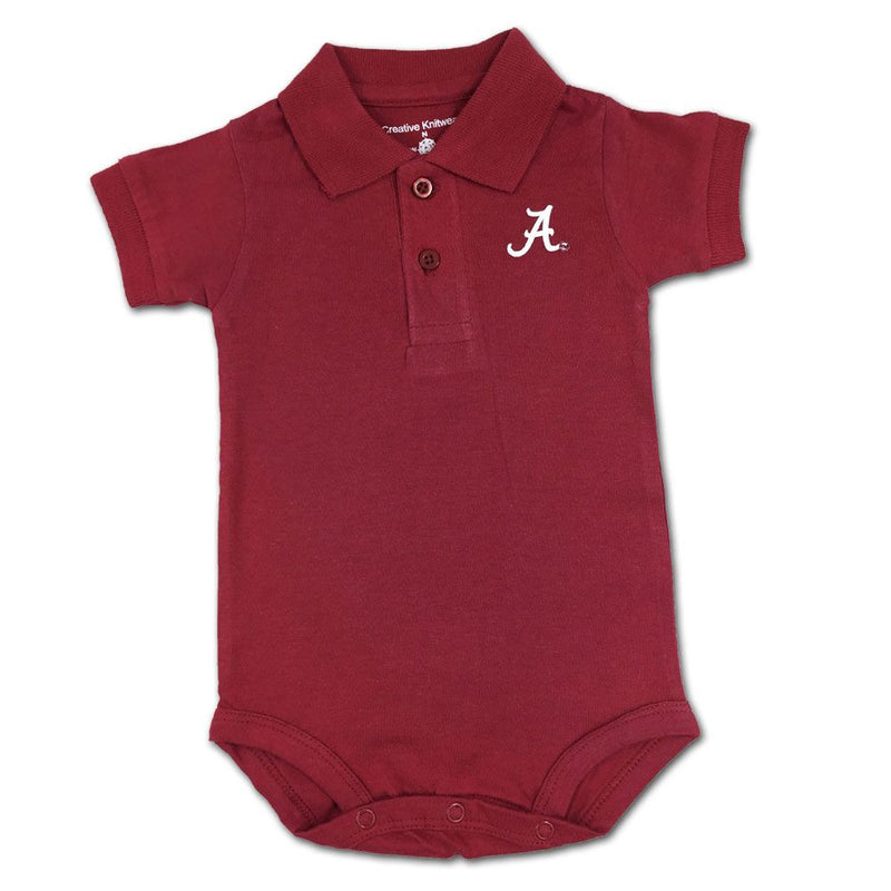 Alabama Golf Shirt Romper