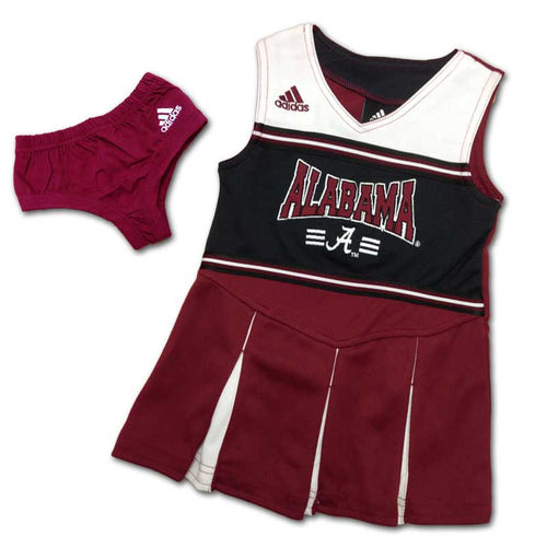 Alabama Toddler Cheer Dress with Bloomer