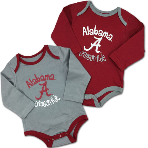 Alabama Fan Bodysuit 2-Pack