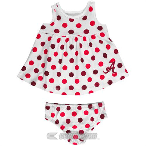 Alabama Baby Dotty Sundress with Bloomers