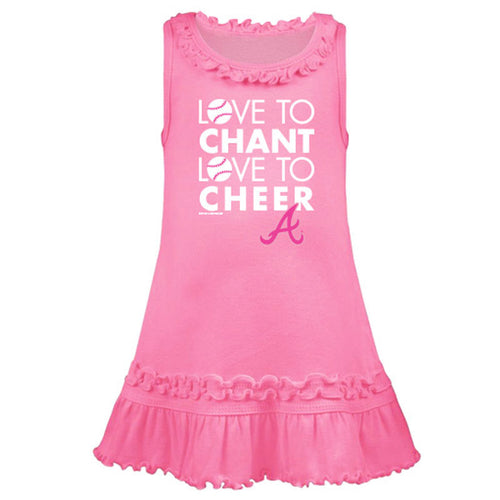 Love to Cheer for the Braves Dress