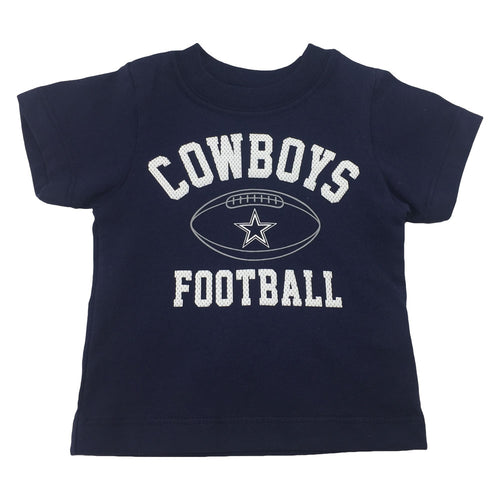 Cowboys Infant/Toddler Football T-Shirt