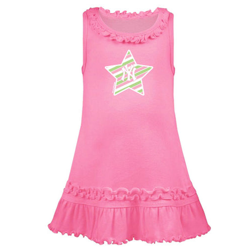 Yankees Pink Star Dress
