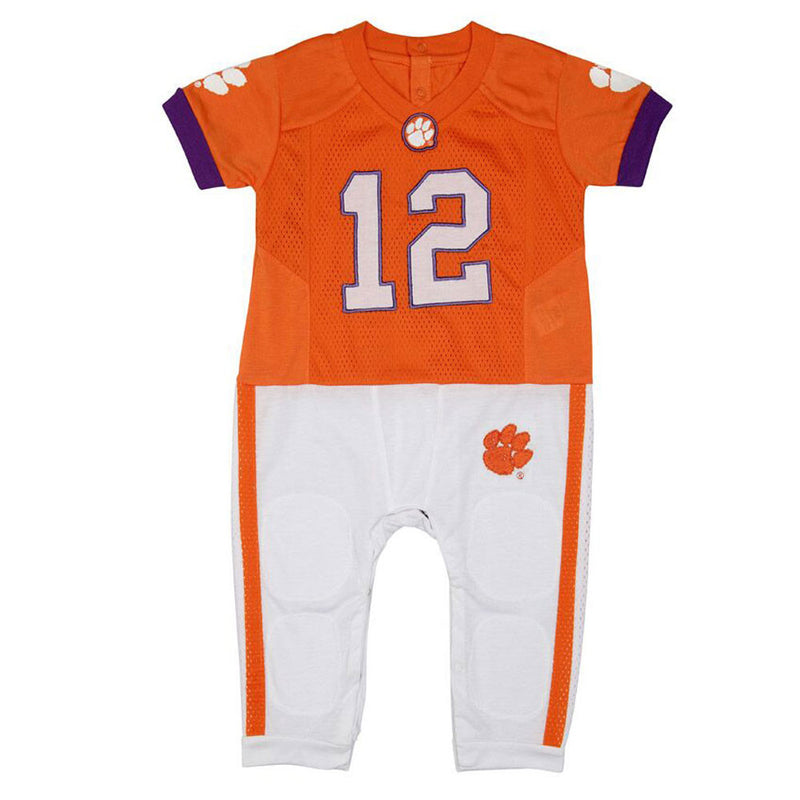 Clemson Infant Uniform Pajamas