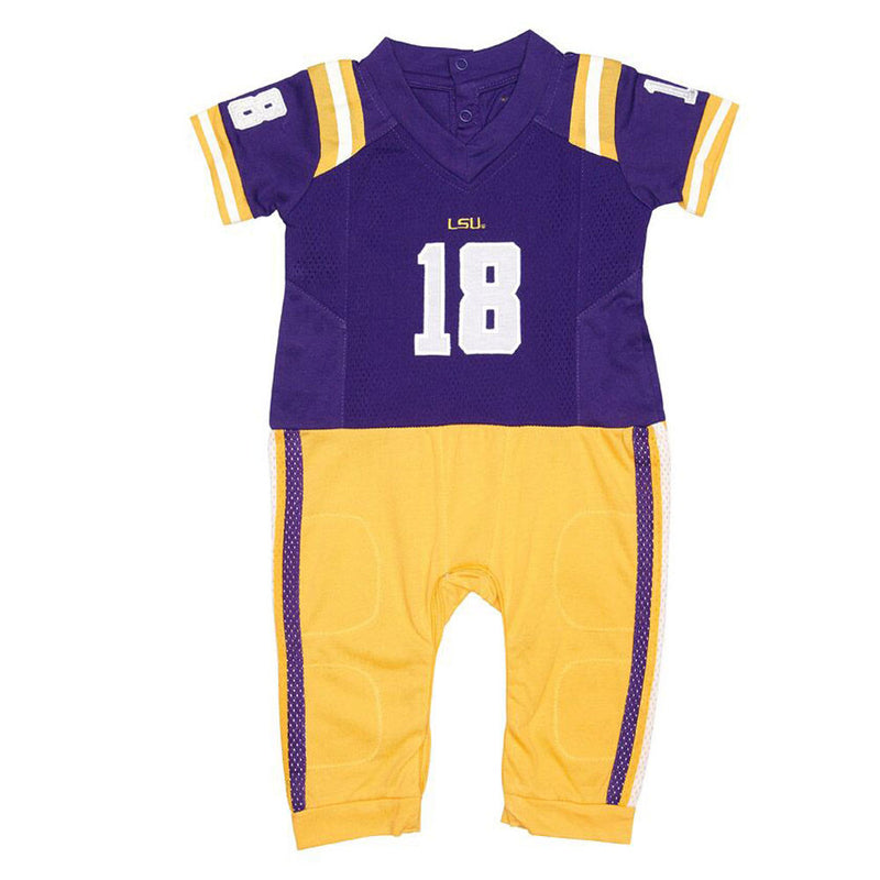 LSU Infant Uniform Pajamas
