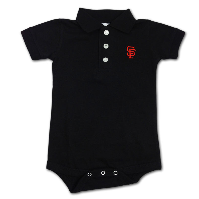 Giants Infant Golf Shirt Creeper