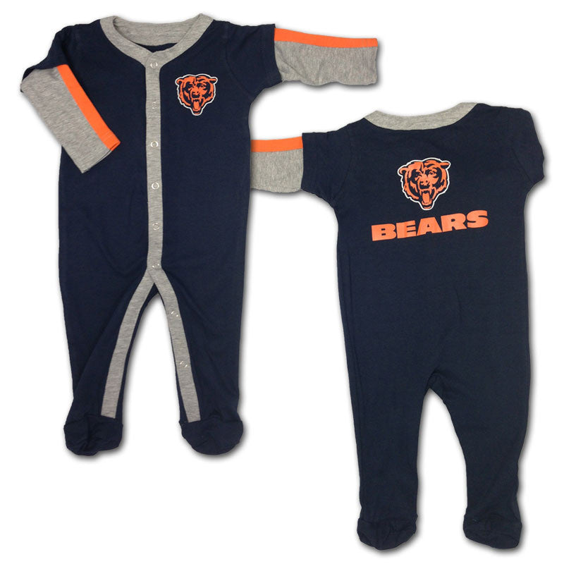 Baby Bears Layered Sleeve Coverall