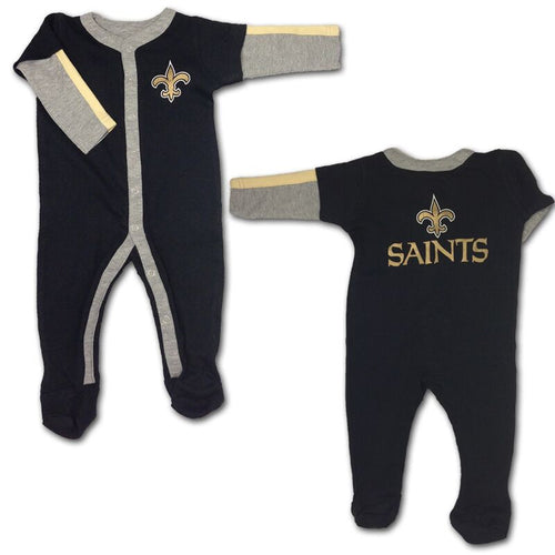 Baby Saints Layered Sleeve Coverall