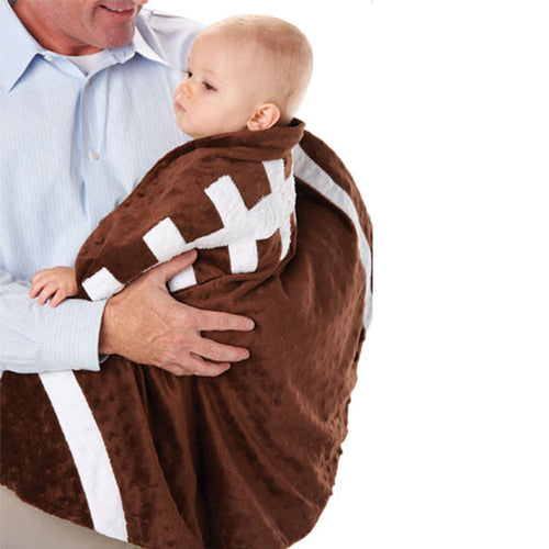 Infant Football Blanket