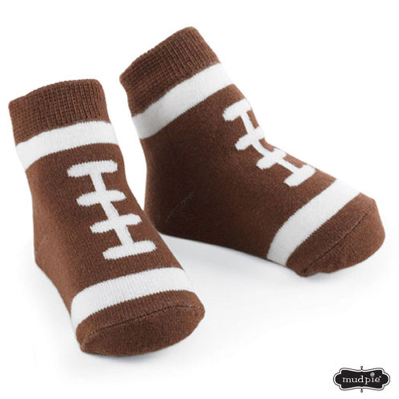 Infant Football Knit Socks