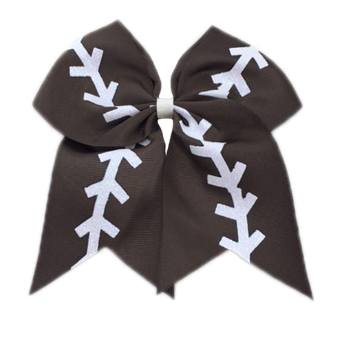 Banded Football Bow