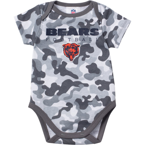 Baby Bears Fan Camo Onesie
