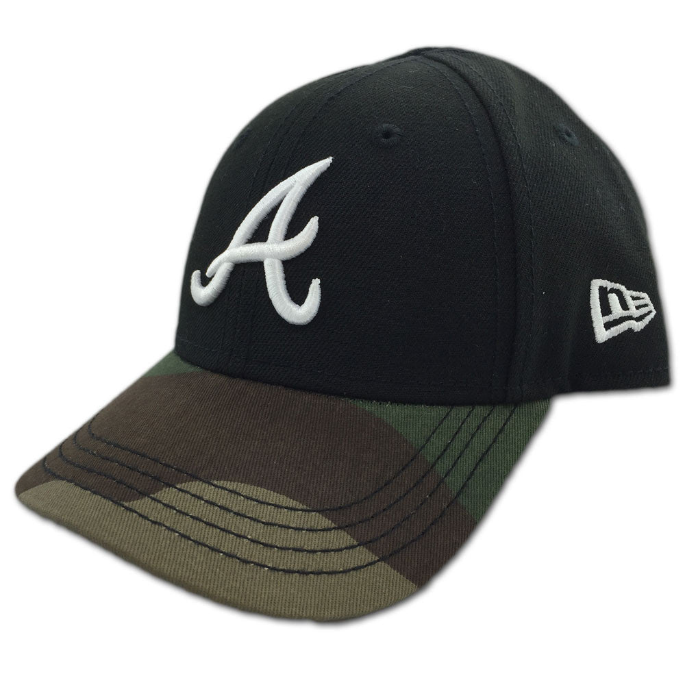 33bd9a13975 Braves Ball Cap with Camo – babyfans