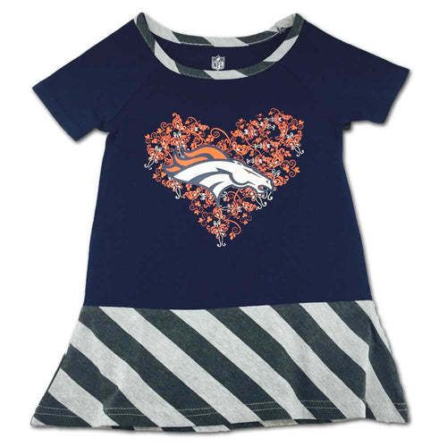 Broncos & Butterflies Dress