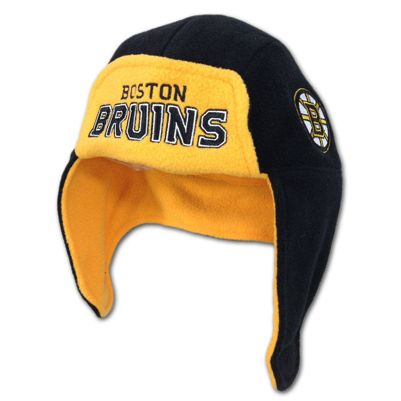 Bruins Kid Aviator Style Hat
