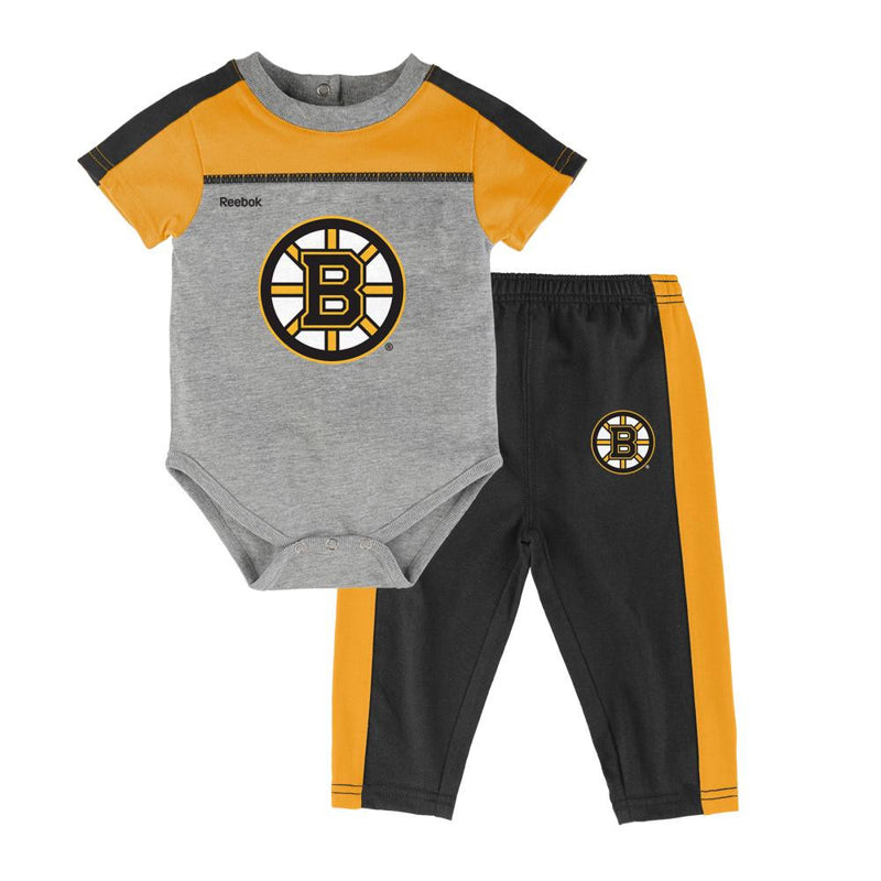 Bruins Hockey Onesie & Pants