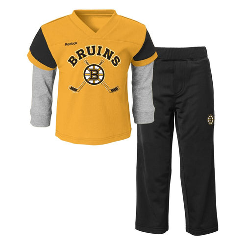 Bruins Layered Shirt and Pants Set