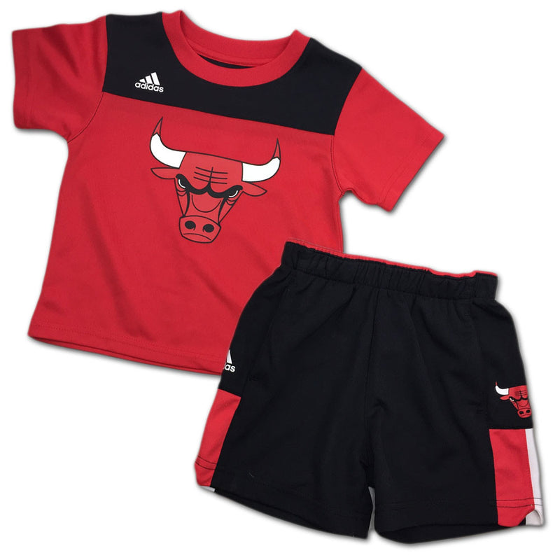 Bulls Toddler Ultimate Short Sleeve Tee and Shorts