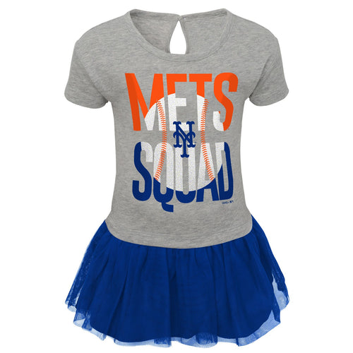 Mets Toddler Girl Cheer Squad Dress