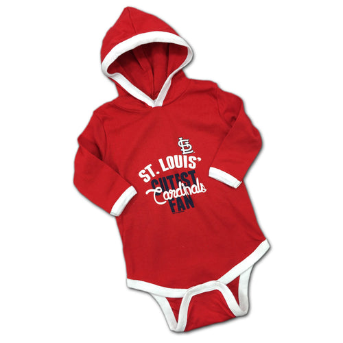St. Louis' Cutest Fan Hooded Bodysuit