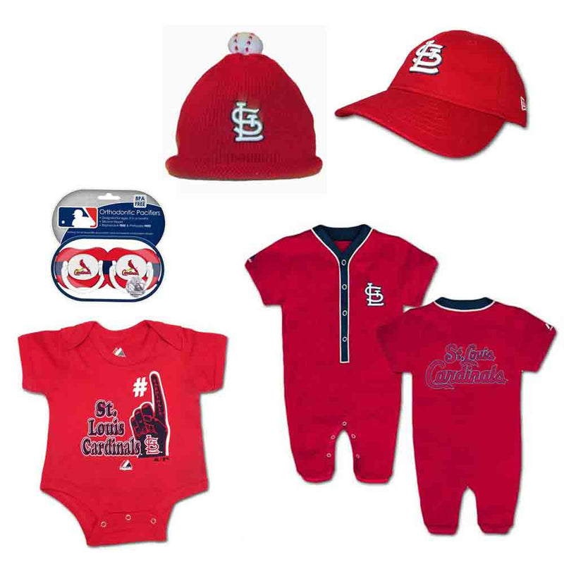 Cardinals Infant Boy Gift Set