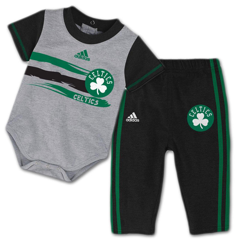 Baby Celtics Short Sleeved Creeper & Pants Outfit