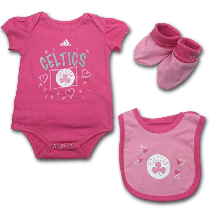 Perfectly Pink Celtics Newborn Outfit