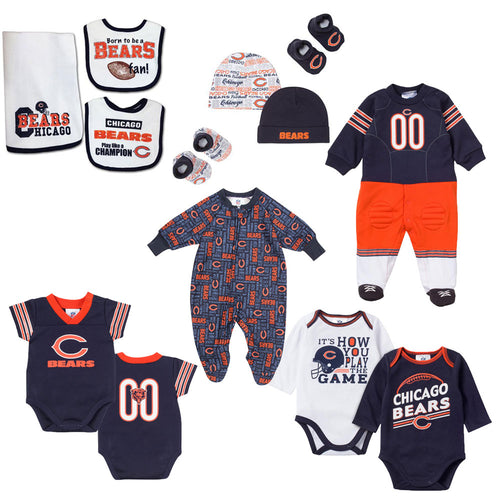 Chicago Bears Baby Clothes Babyfans Com Babyfans