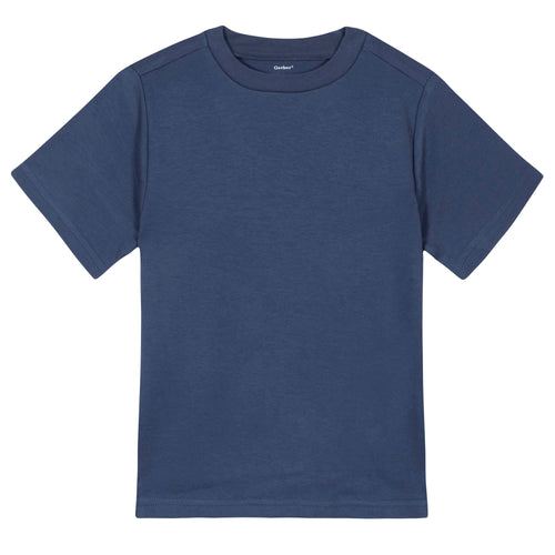 Boys Navy Classic Short Sleeve Tee Shirt