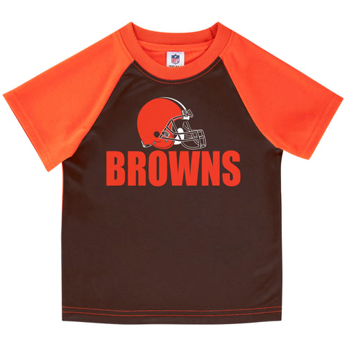 Cleveland Browns Boys Short Sleeve Tee