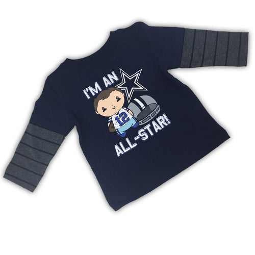Cowboys All-Star Layered Tee