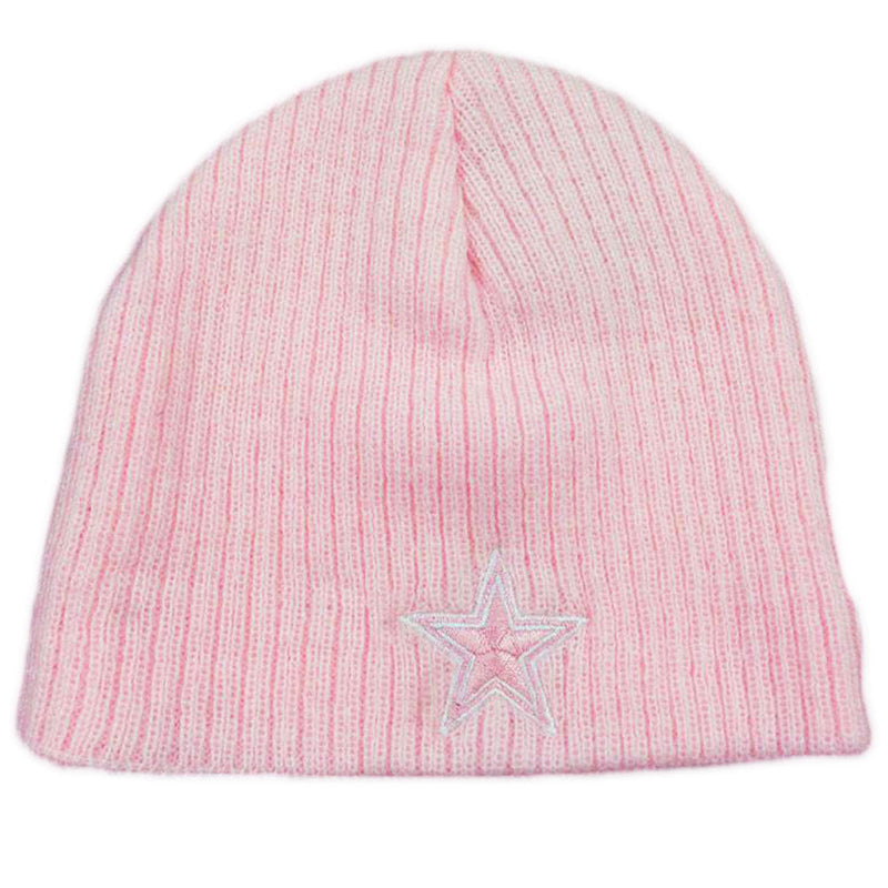 Cowboys Infant Pink Beanie Cap