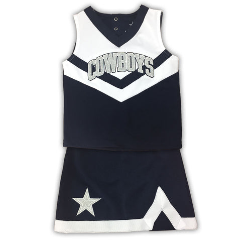 Dallas Cowboys Toddler Cheerleader Outfit