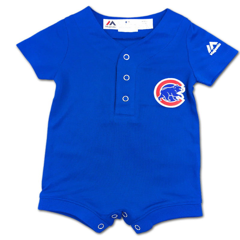 Cubs Baby Genuine Jersey Romper