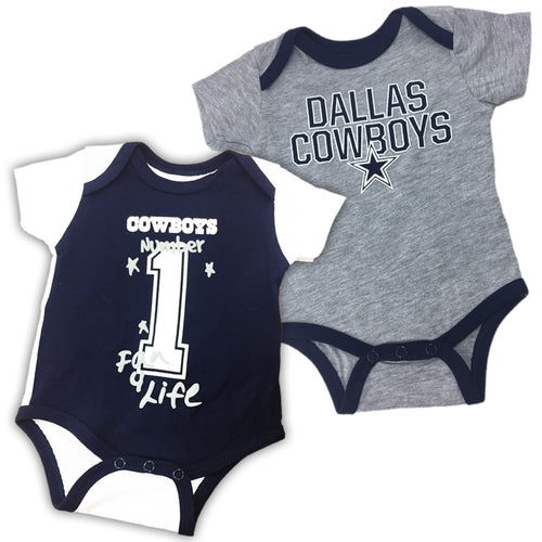 Dallas cowboys baby clothes babyfans babyfans cowboys fan 4 life 2 pack negle Gallery