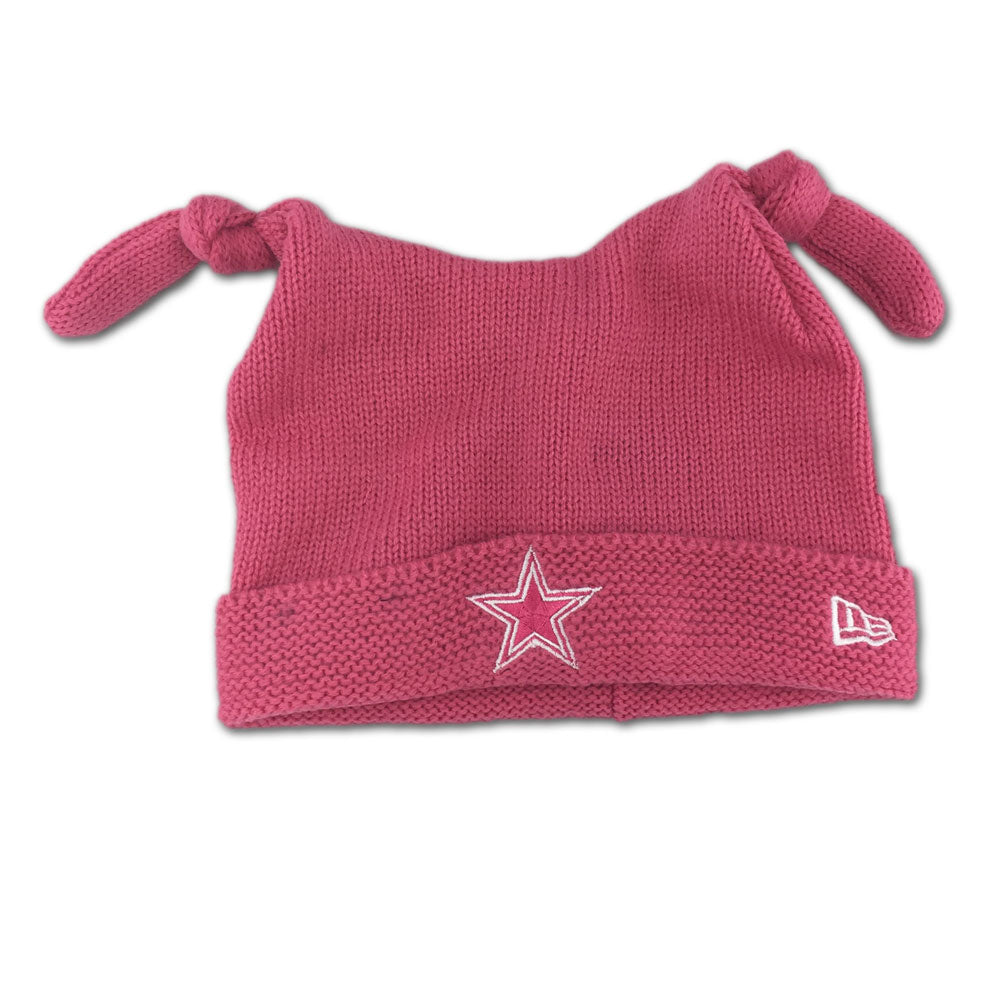 huge selection of f8cdd b0a39 Cowboys Pink Infant Beanie