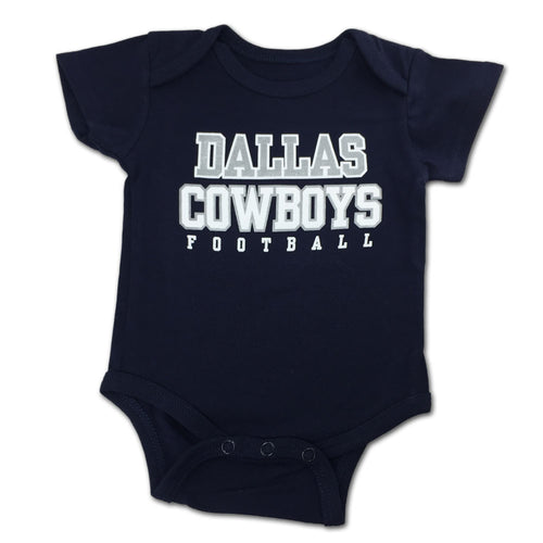 Dallas cowboys baby clothes babyfans babyfans dallas cowboys logo bodysuit negle Gallery