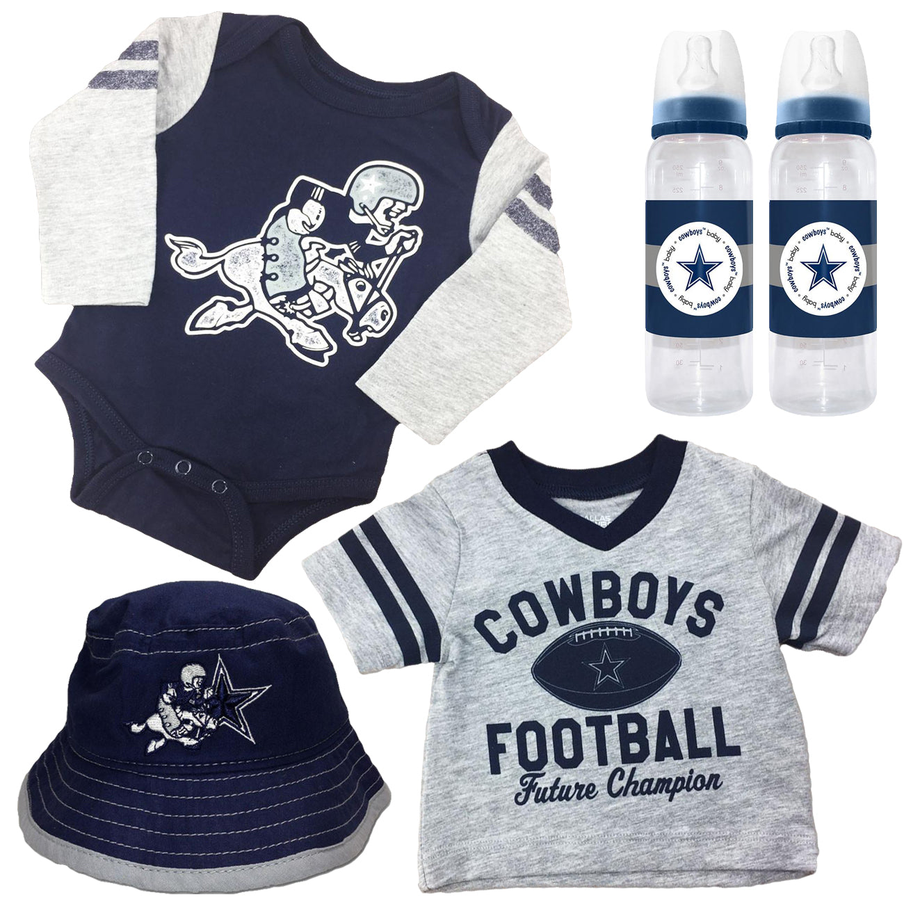 9be43390448 Dallas Cowboys Infant Boy Gift Set – babyfans