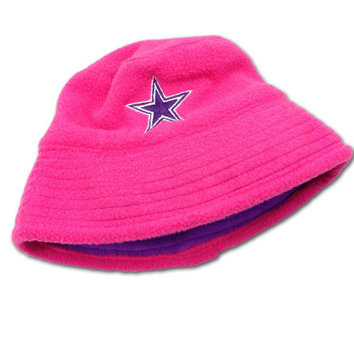 Cowboys Pink Reversible Infant Bucket Hat