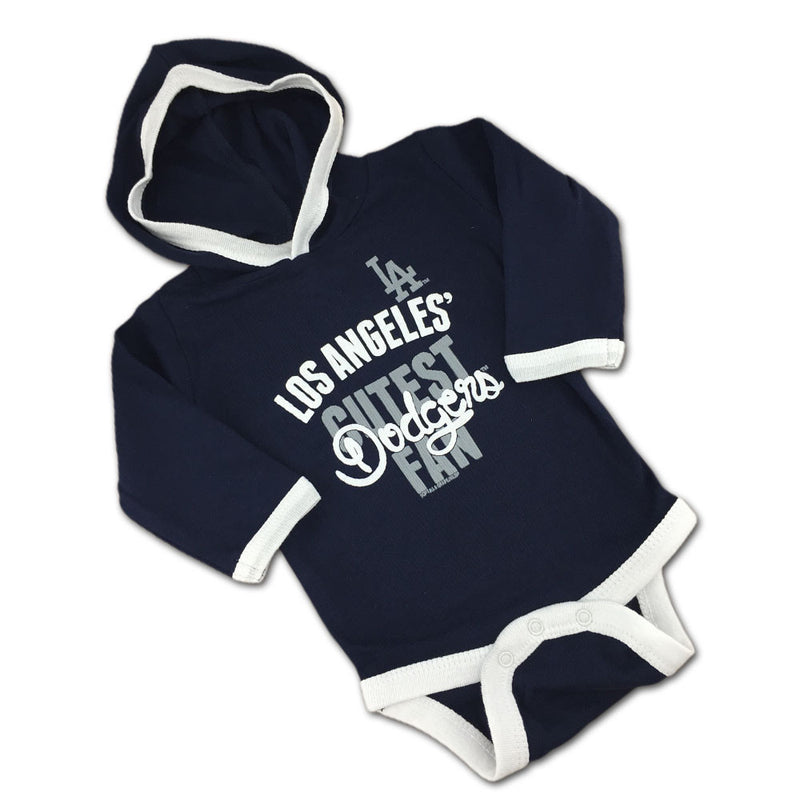 Los Angeles' Cutest Fan Hooded Bodysuit