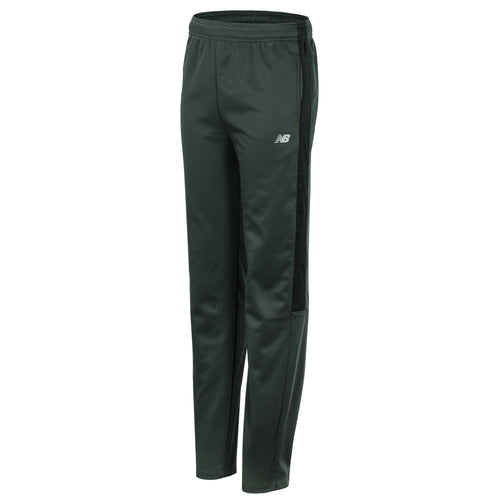 New Balance Boys Defense Green Fleece Athletic Pant