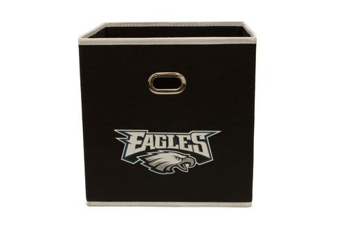 Six (6) Philadelphia Eagles NFL Storage Cubes