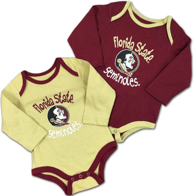 Florida State Fan Bodysuit 2-Pack